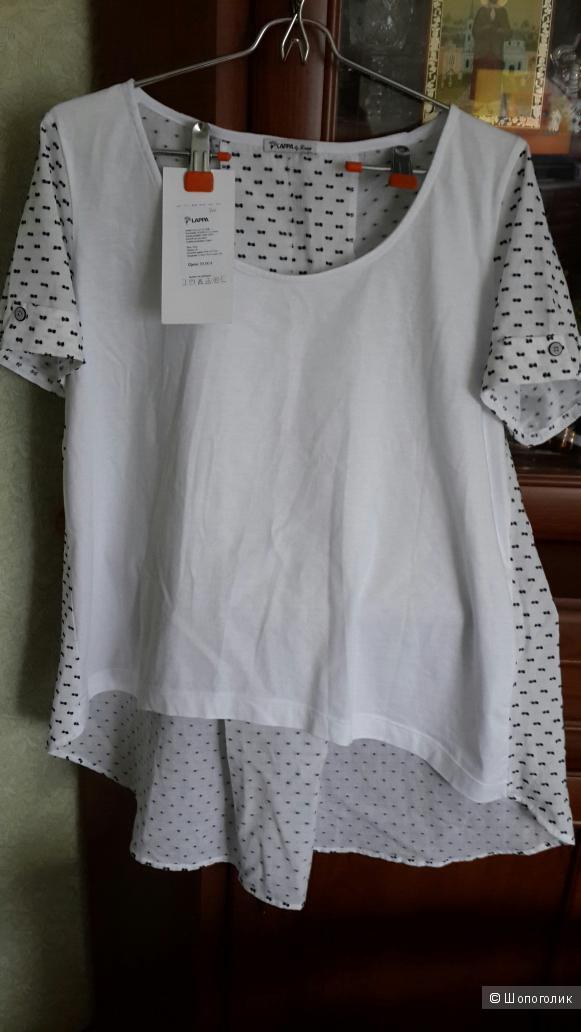 """Блузка от финского производителя """"LAPPA"""" размер 48"""