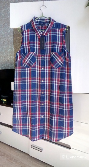 Платье - рубашка Tommy Hilfiger, размер 12