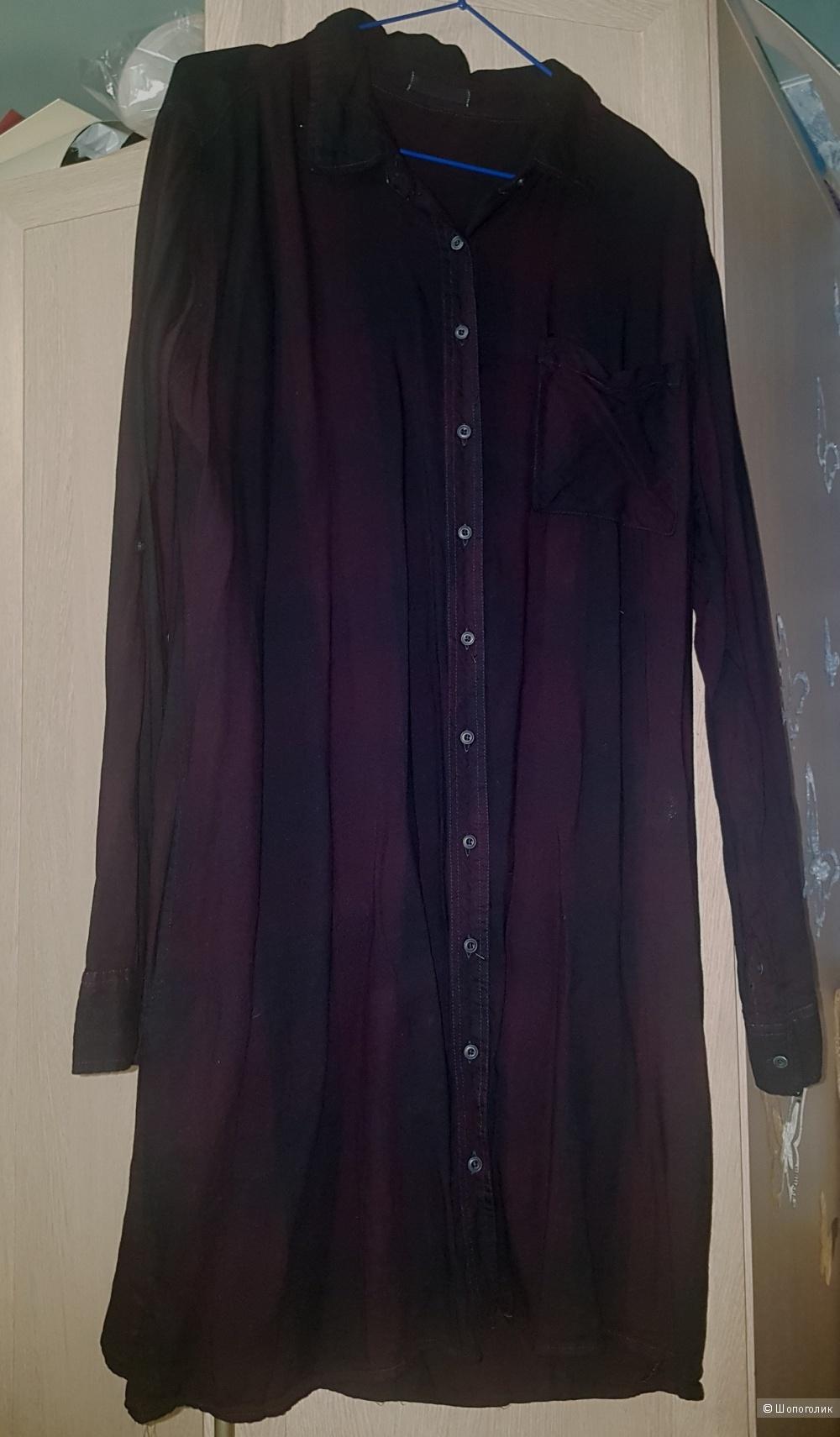 Платье-рубашка Rebel XL