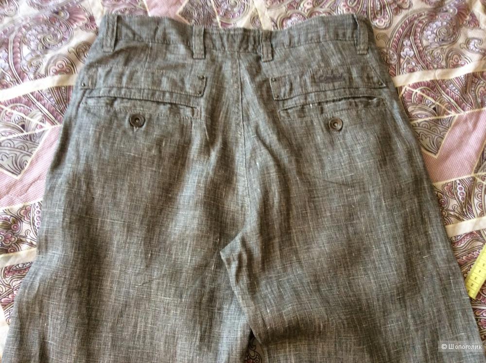 Льняные брюки Cordial, W30, L34