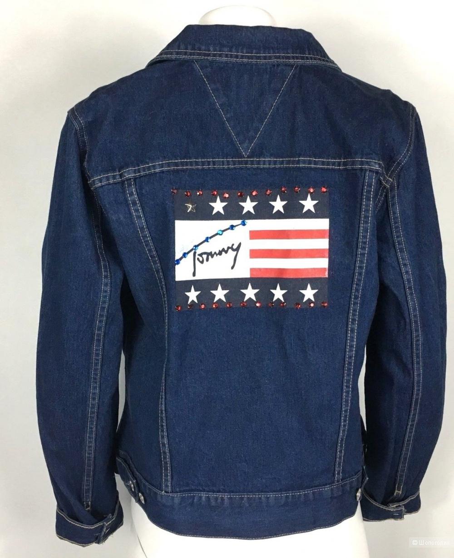 Джинсовая куртка Tommy Hilfiger 46 - 48 размер L