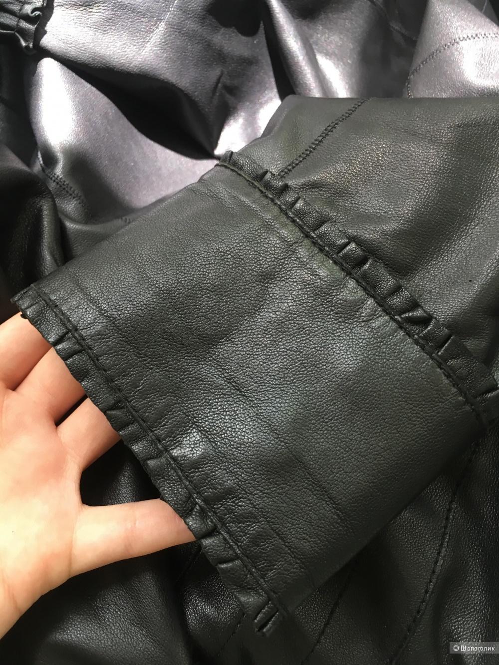 Кожаная куртка Punto р-р S-M