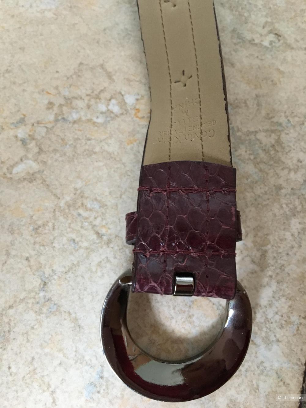 Кожаный ремень Calvin Klein, размер M