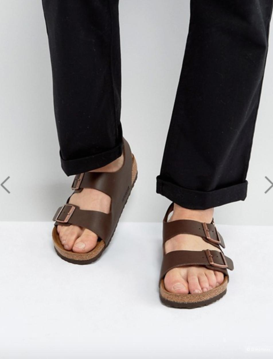 Мужские сандалии Birkenstock, размер 43. 28 см по стельке.