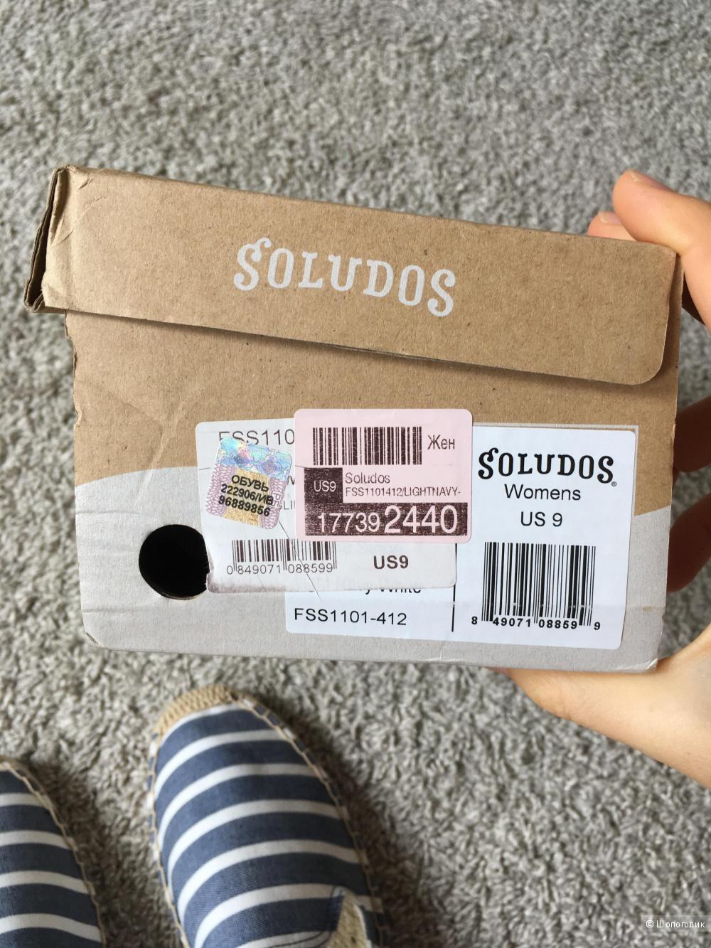 Эспадрильи Soludos US9