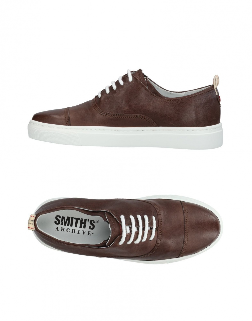 Кожанные ботинки smith'S american, размер 40