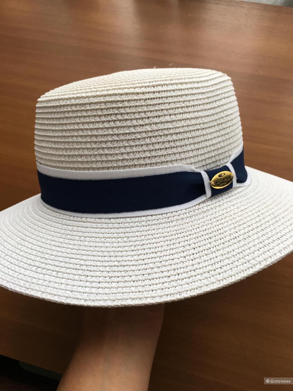 Белая шляпа . Размер ОS