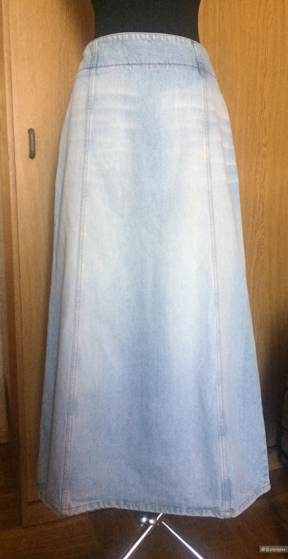 Джинсовая юбка-макси BENETTON 48-50 размер