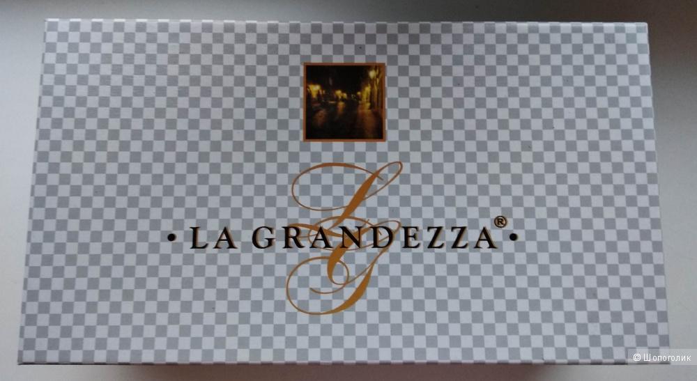 "Мокасины кожаные ""La Grandezza"", р.37-37,5 (на стопу 240мм)"