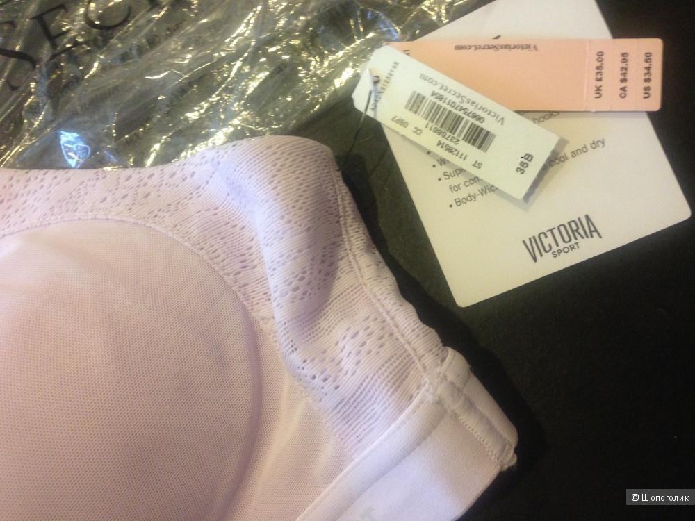 Victorias Secret спорт бра 36B сиреневый ( подойдёт на 75,80В)