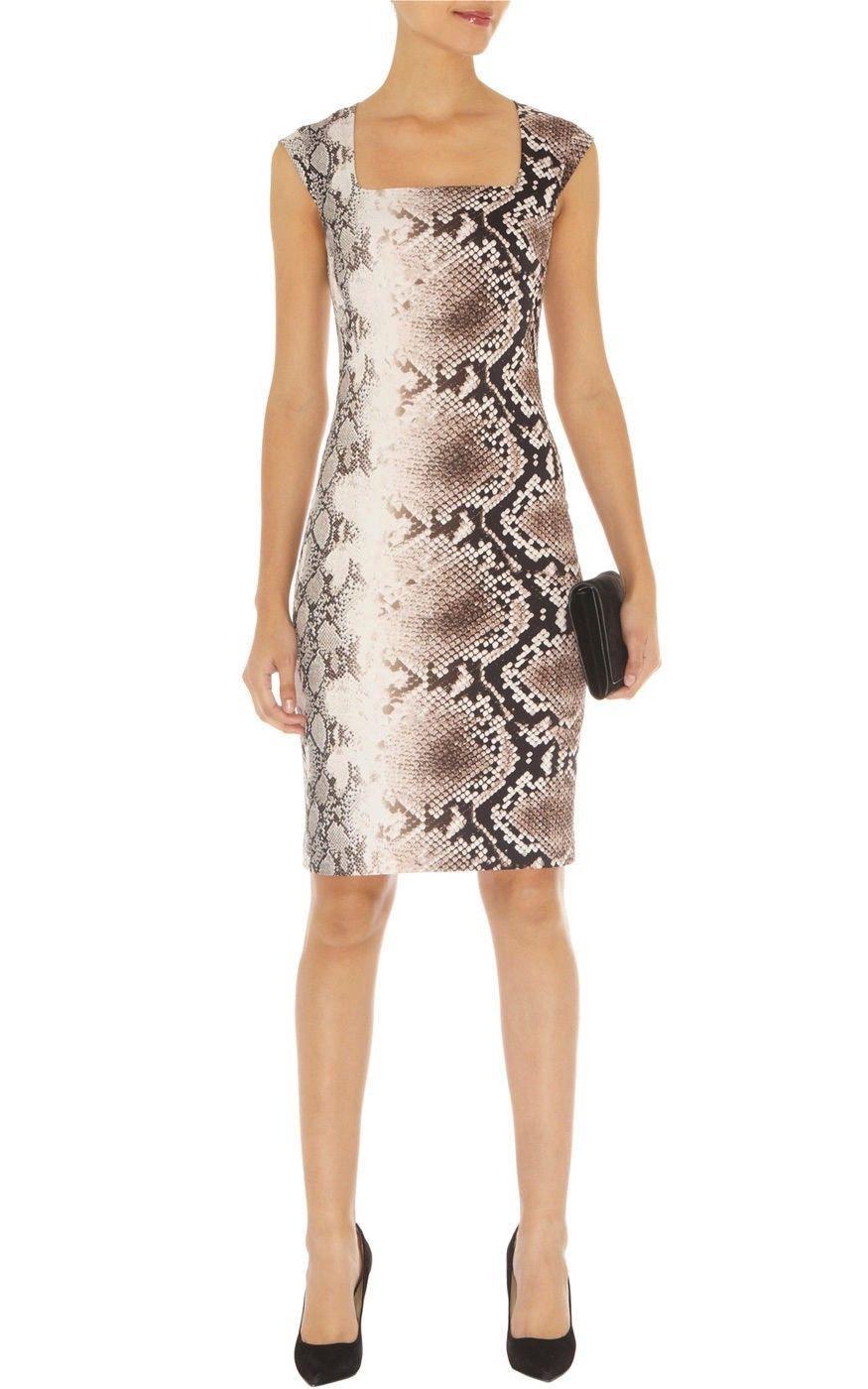 Karen Millen платье питон размер 46