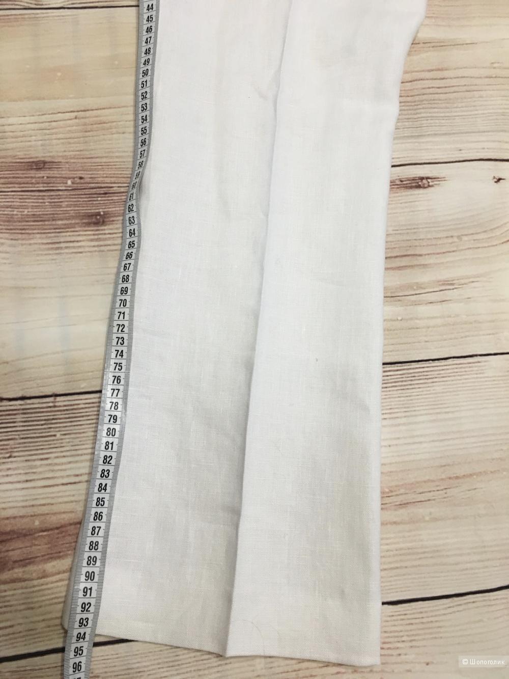 Льняные брюки MICHAEL MICHAEL KORS, размер 8 US (48 RU). На рос. 46