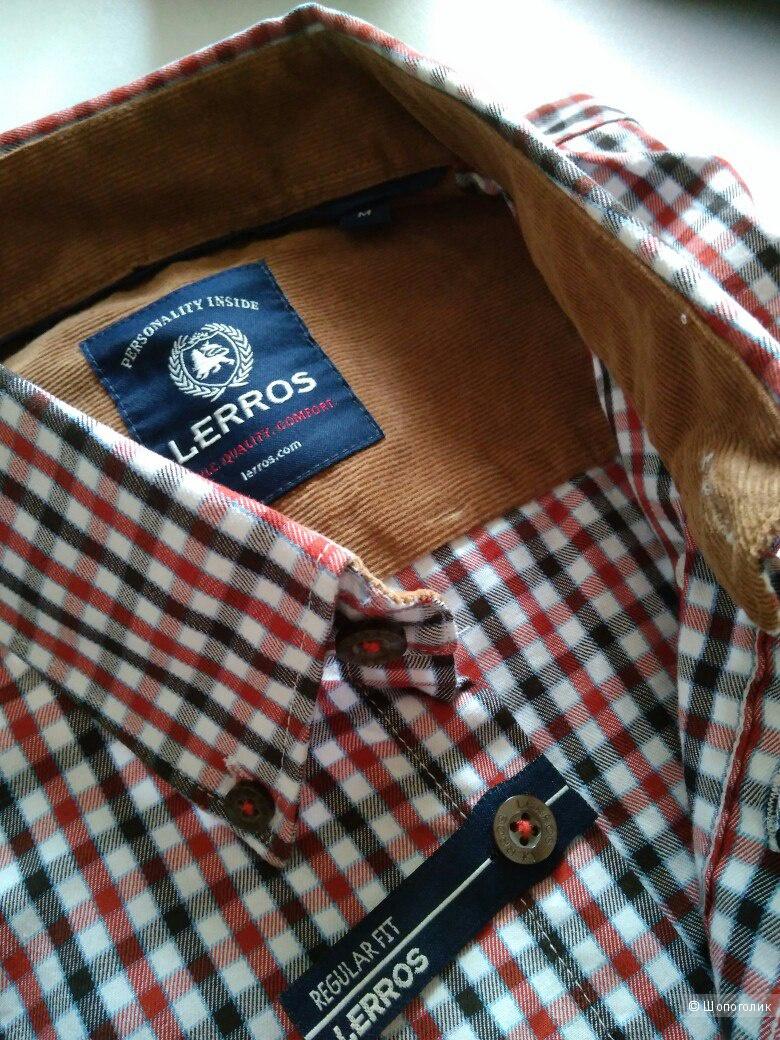 Мужская рубашка бренда Lerros, размер 50