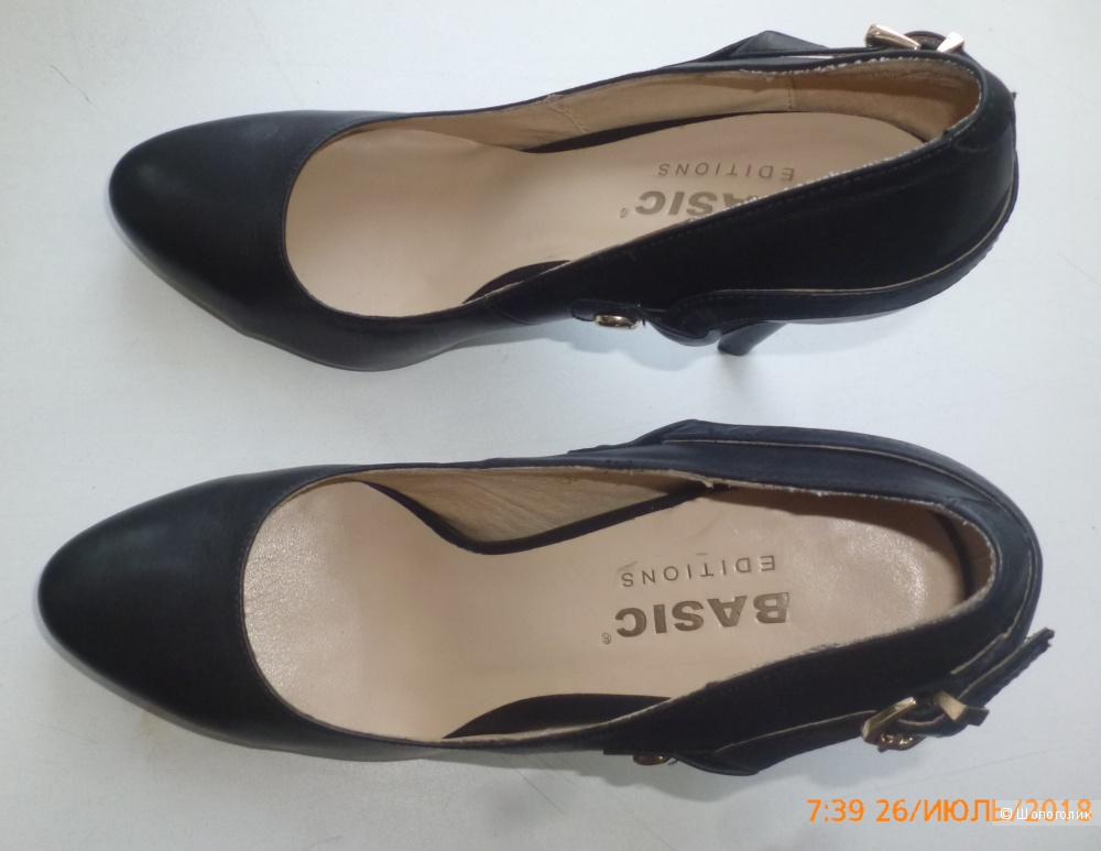 Туфли, Basic Editions, 38 (RUS 37.5-38)