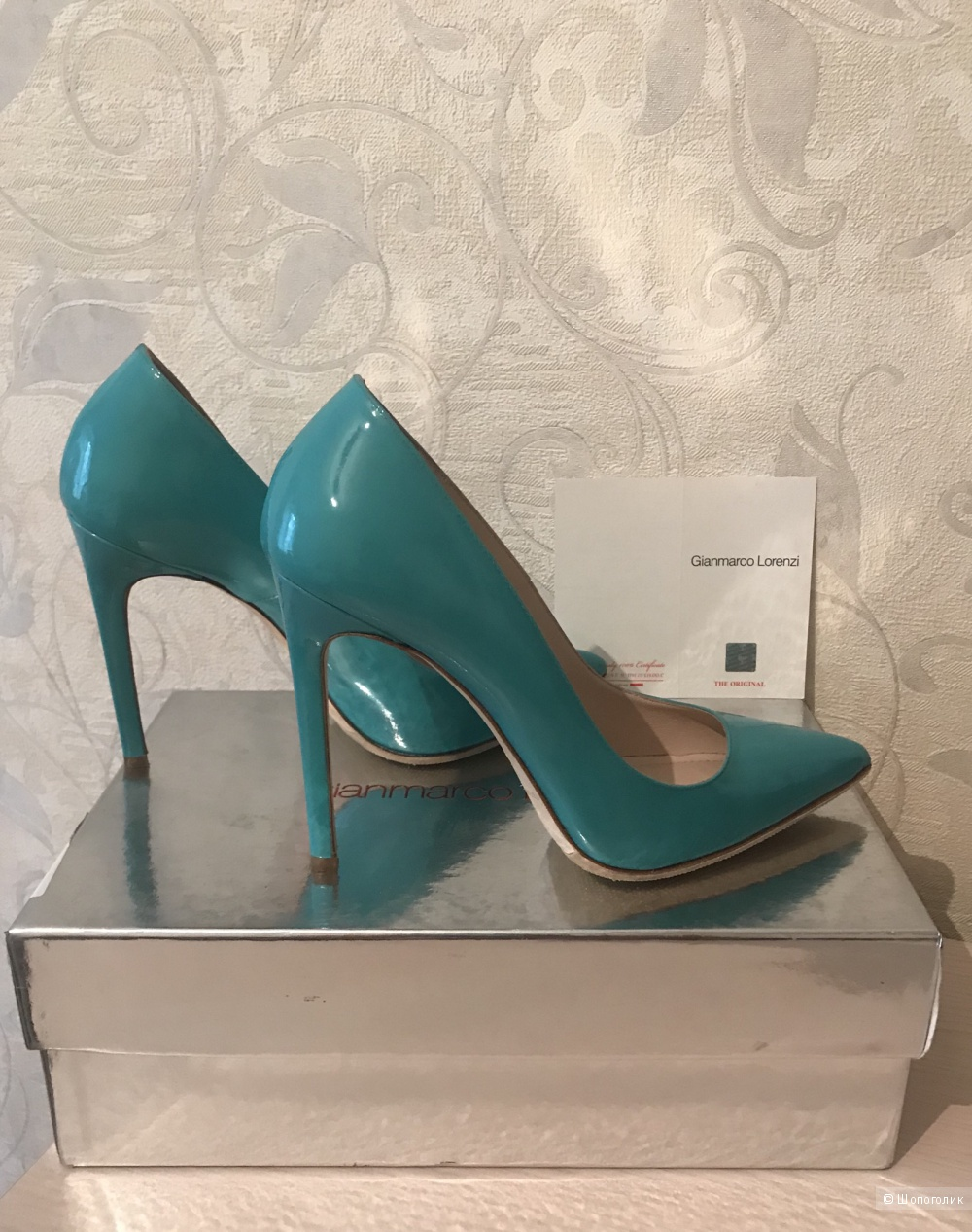 Туфли Gianmarco Lorenzi, 36 размер