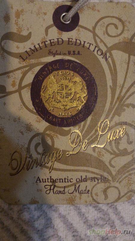 Кожаный жакет итальянской марки VINTAGE DE LUXE . 44 размер