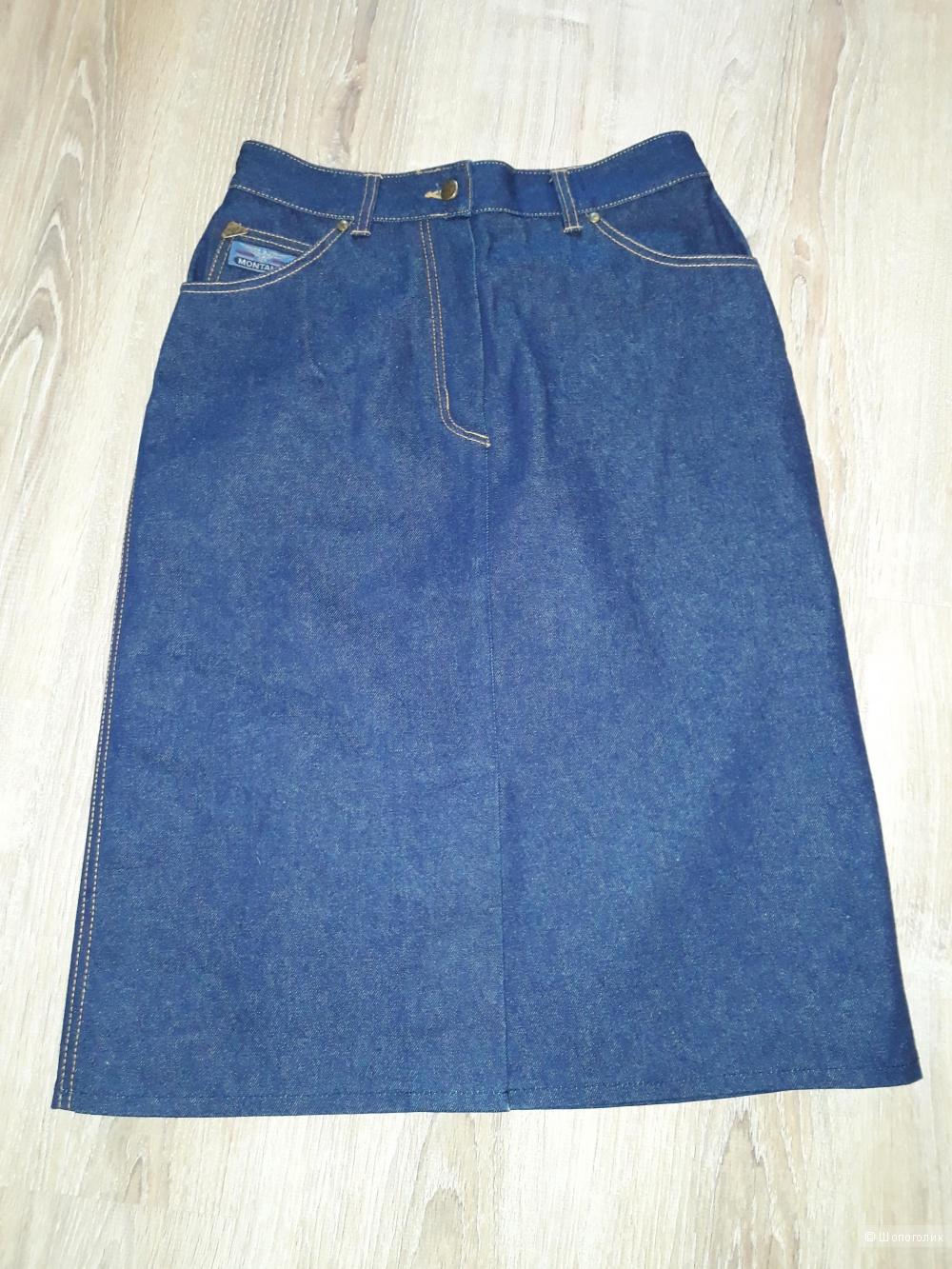 Джинсовая юбка montana, размер  46+-