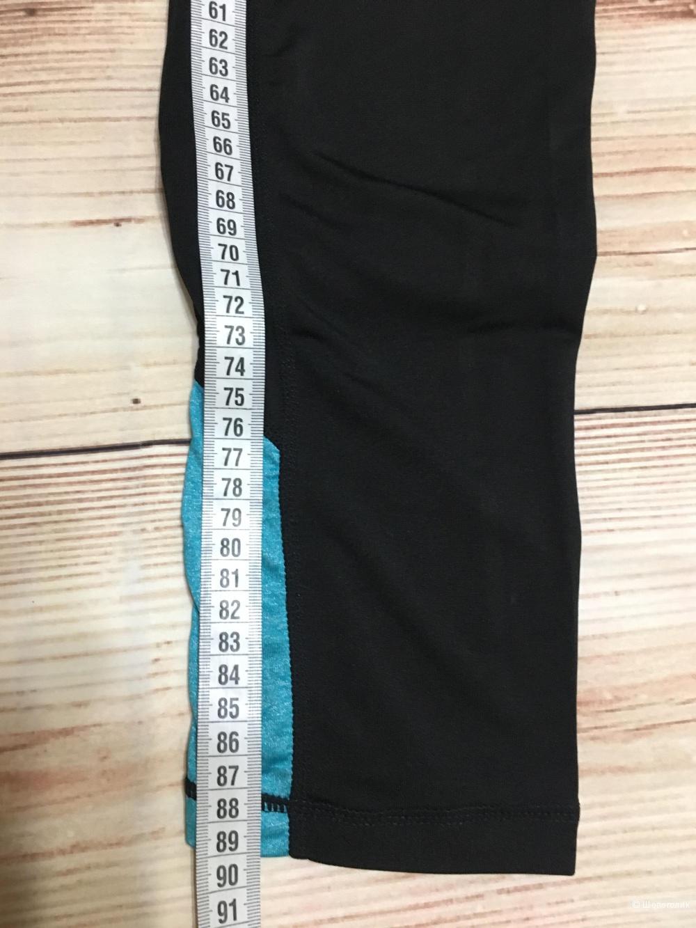 Леггинсы для спорта, размер L. На рос. 44-46-небольшой 48