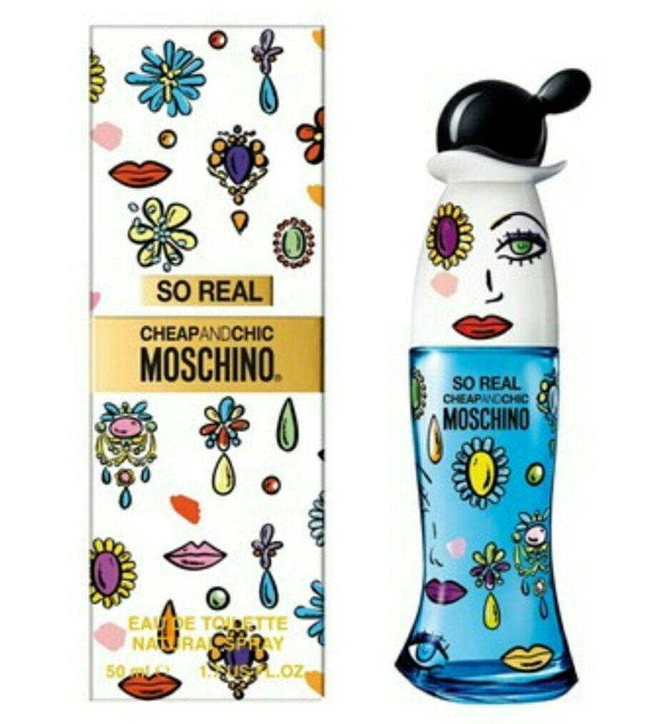 Туалетная вода So Real Cheap & Chic, Moschino, 50 ml.