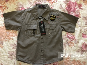 Рубашка xiaohuolong, 10-12 лет