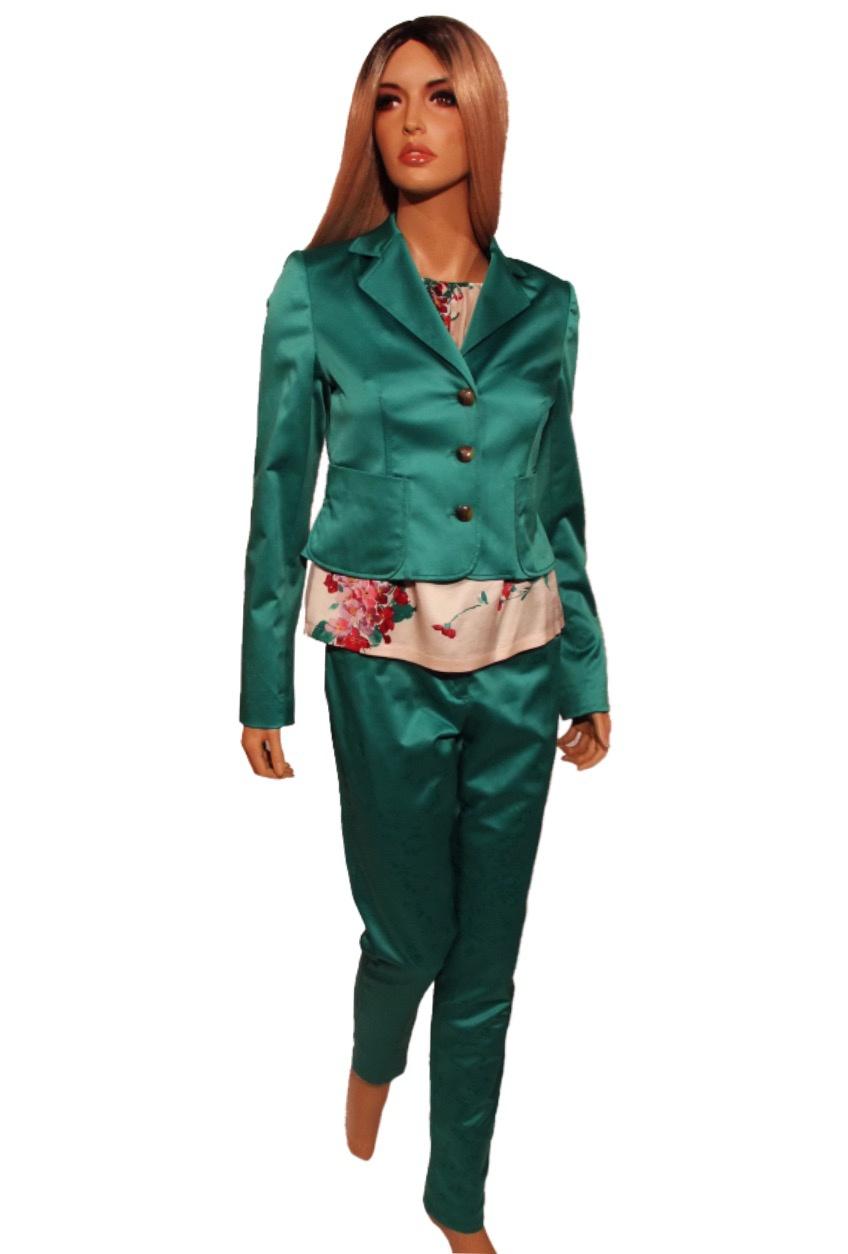 Костюм VDP + блузка LeComte размер 42-44 (S, М)