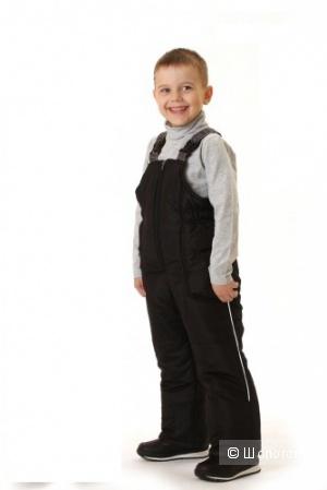 Полукомбинезон для мальчика зимний 200г Sova черный 92р