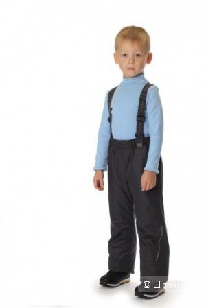 Полукомбинезон для мальчика Sova черный 110р мембрана, деми