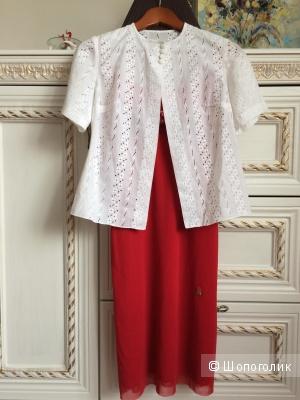 Сет из трёх вещей - платье,жакет,болеро,40-42-44