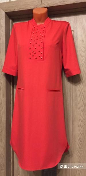 Платье - рубашка - туника Justwomen 44 размер