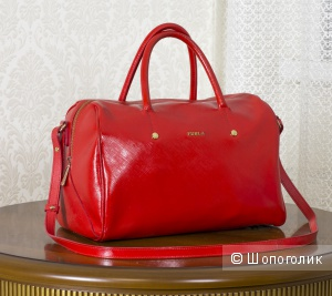 Сумка женская satchel - Furla Alissa L, medium.