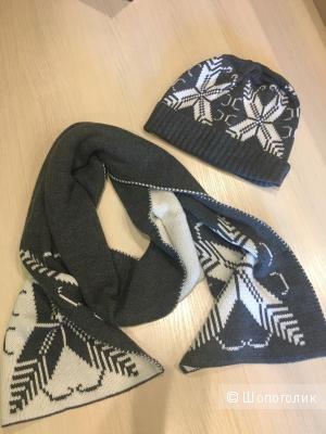 Комплект Dolce&Cabbana шапка+шарф