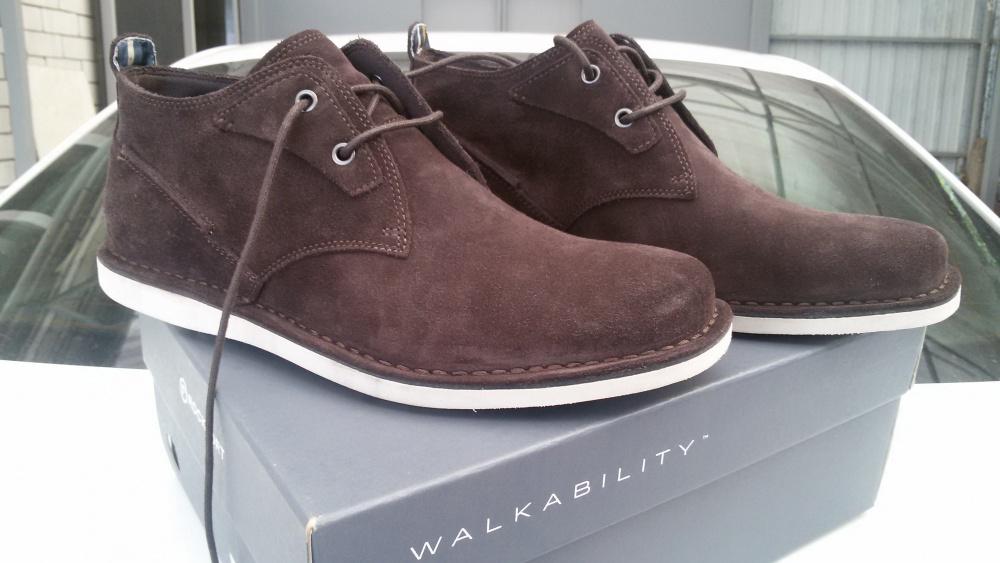 Мужские ботинки Rockport р. 43-44 (28 см)