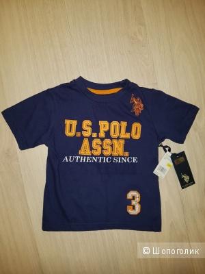 Футболка US Polo Assn, на 2 года
