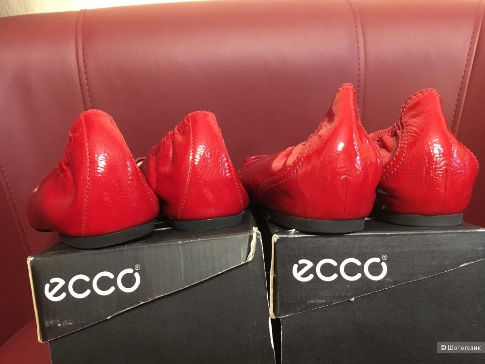 Сет: Балетки Ecco 41 размер,  2 пары