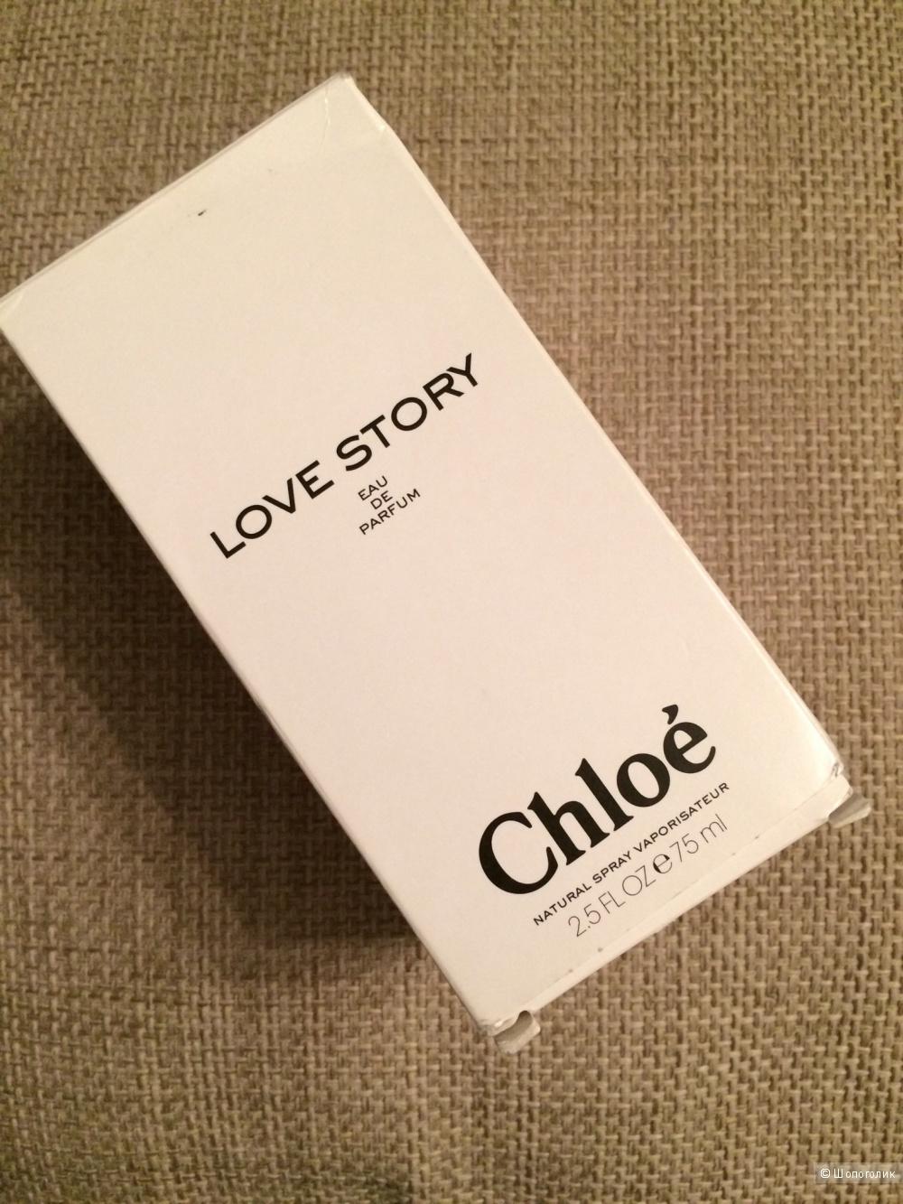 Парфюм Chloé Love Story EDP 75 мл