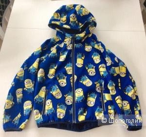 Детская куртка из софтшелла р.128