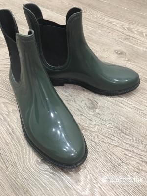 Резиновые ботинки, размер 37