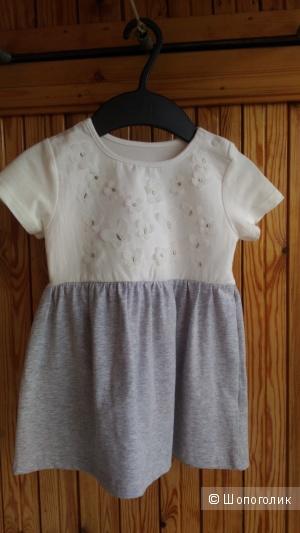 Детское платье BabyGo, ростовка 86 см.