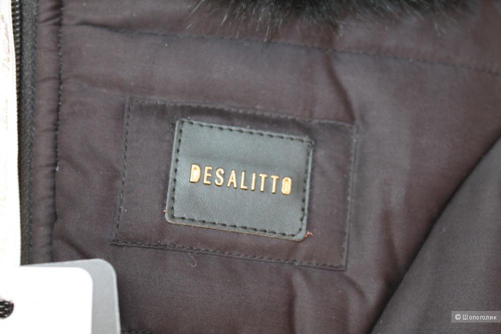 Пальто-пуховик De Salitto р.122