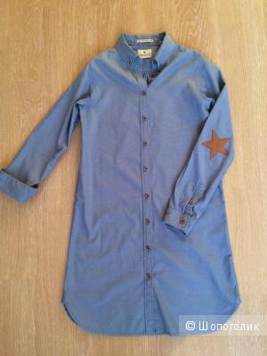 Платье-рубашка Maison Scotch, р-р 2 (42-44)