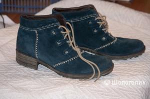 Мужские демисезонные ботинки Josef Seibel / замша / размер 44
