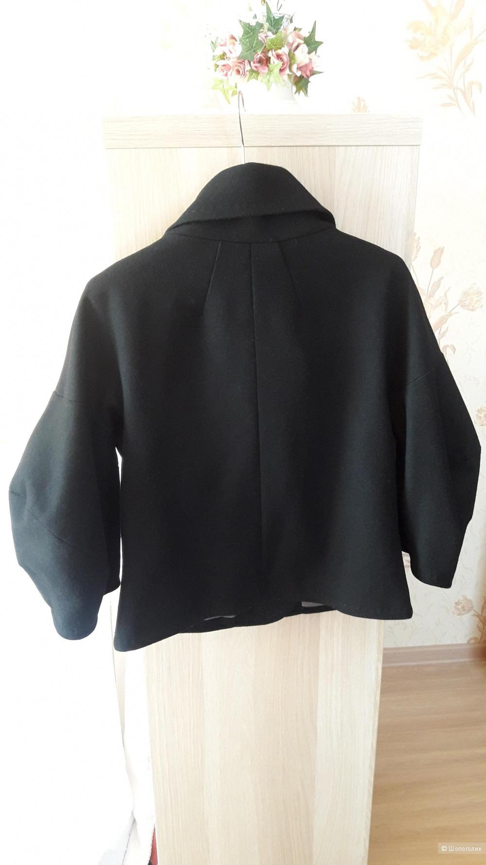 Пальто-жакет BCBGMAXAZRIA, размер 44
