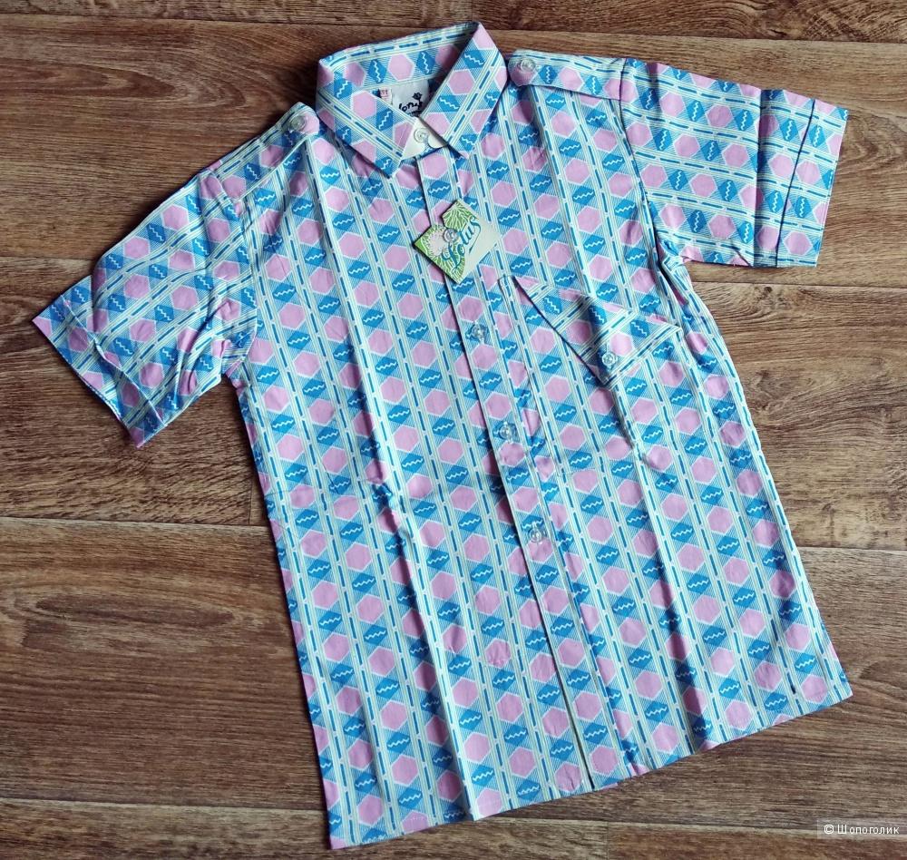"Детская рубашка ""Lotus"" (на возраст 6-8 лет)"