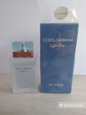 Парфюм Dolce&Gabbana Light Blue Intense 50мл