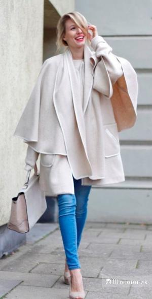 Пальто-кейп H&M, размер S