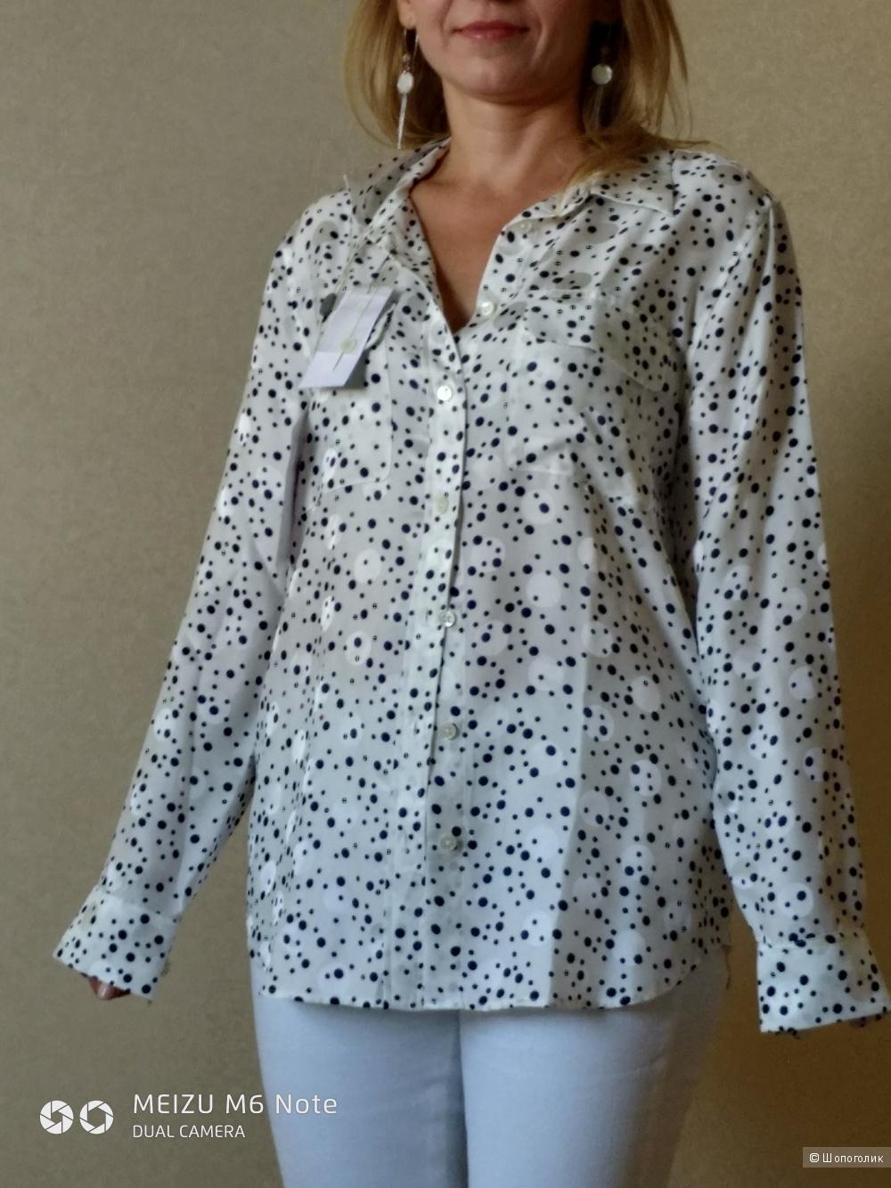 Шелковая рубашка  EQUIPMENT размер S