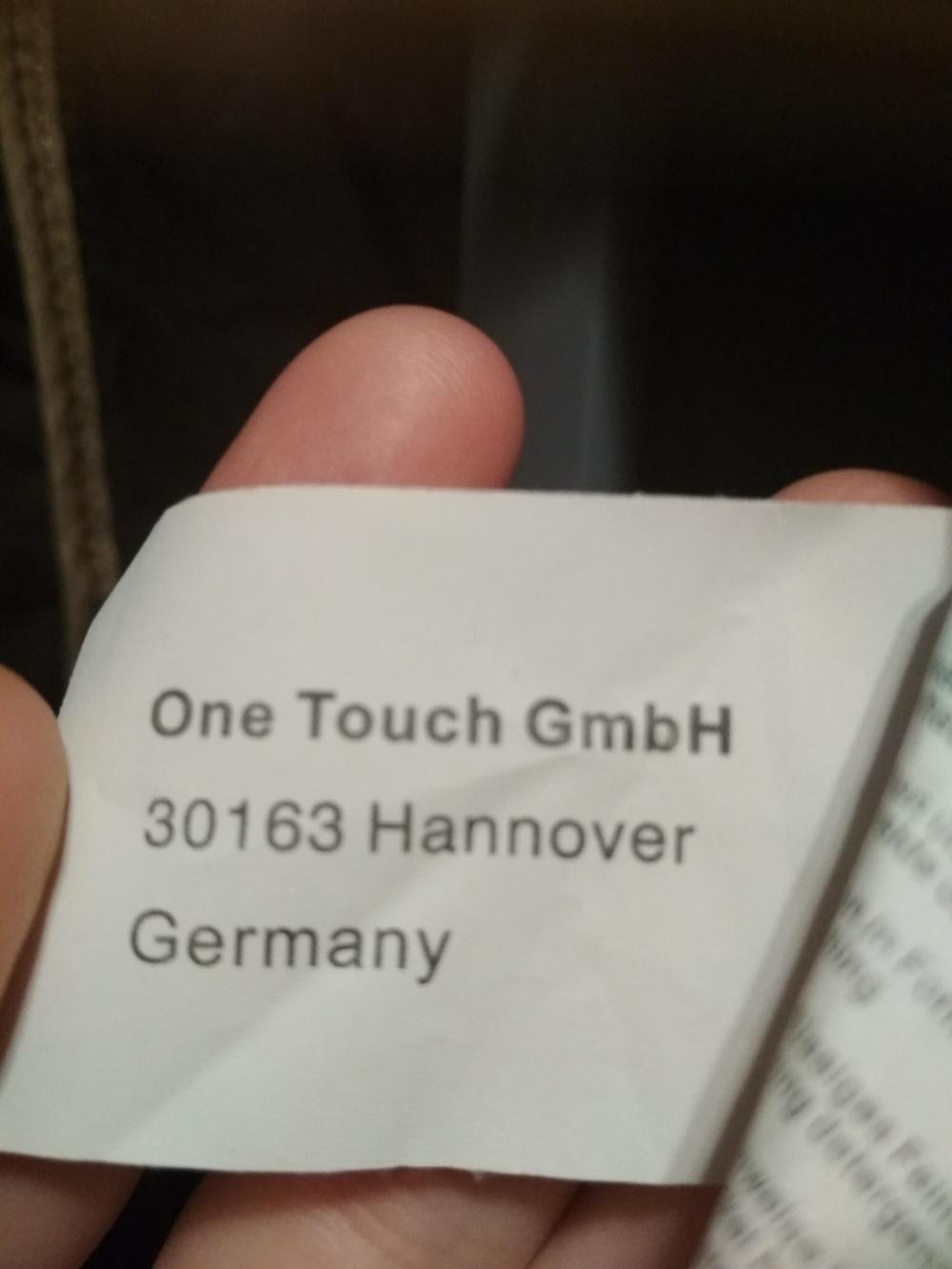 Пиджак  One touch 50