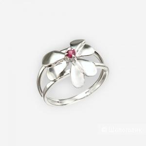 Серебряное кольцо Totemi, 16,5 размер