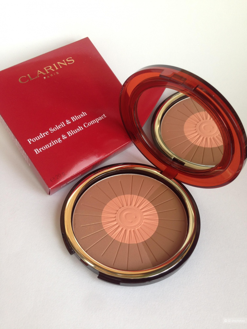 Clarins Коллекционная Пудра-бронзатор Poudre Soleil &Blush