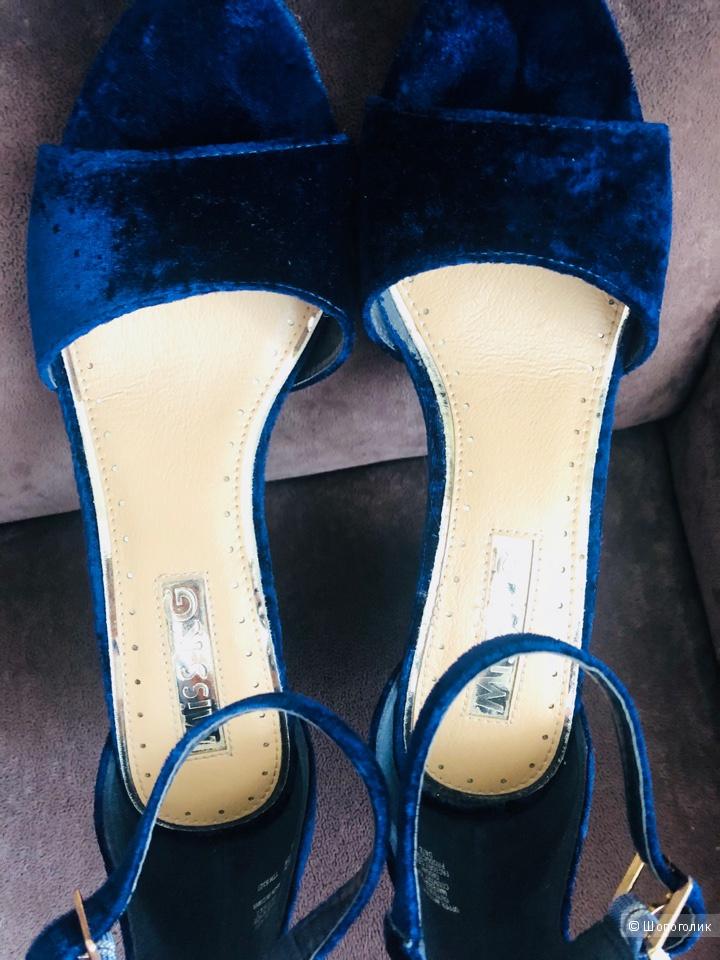 Бархатные сандалии Miss KG 39 размер